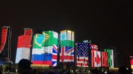 Nuova area di Hangzhou costruita per il G20
