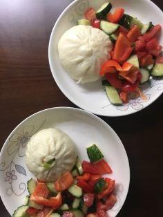 deliziosi 包子 con verdure