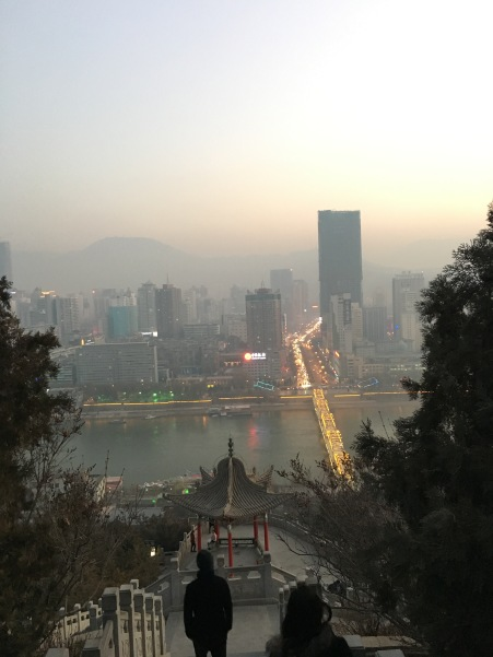 Lanzhou nei giorni non troppo inquinati